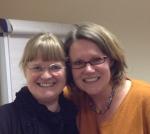 with Dr Susanne Albrechtsen (left)