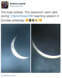 eclipse tweet